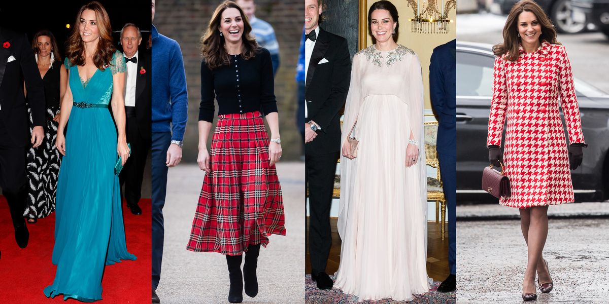 Kate Middleton The Duchess Of Cambridges Best Looks Of 2018