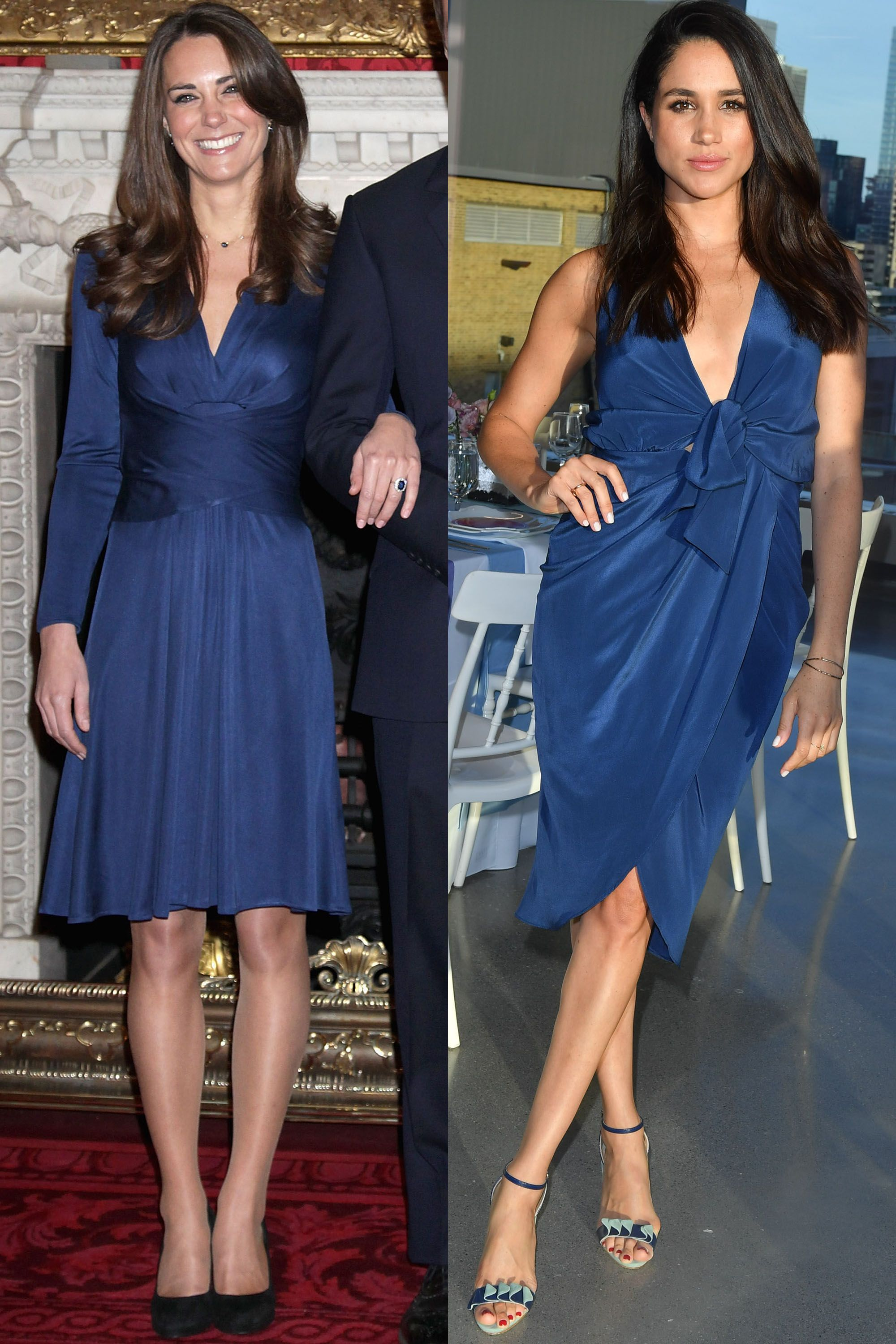 Kate Middleton And Meghan Markle S Matching Outfits Photos