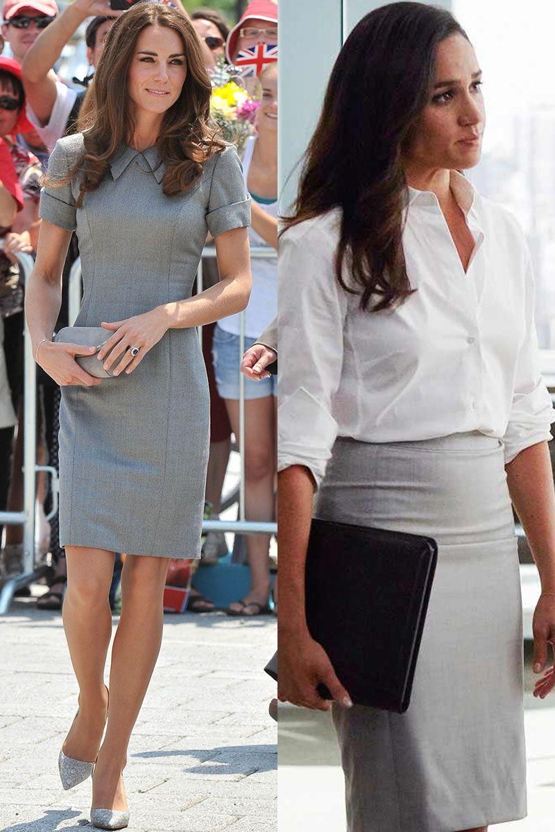 86a898e255a Kate Middleton and Meghan Markle s Matching Outfits - Kate Middleton and  Meghan Markle Photos
