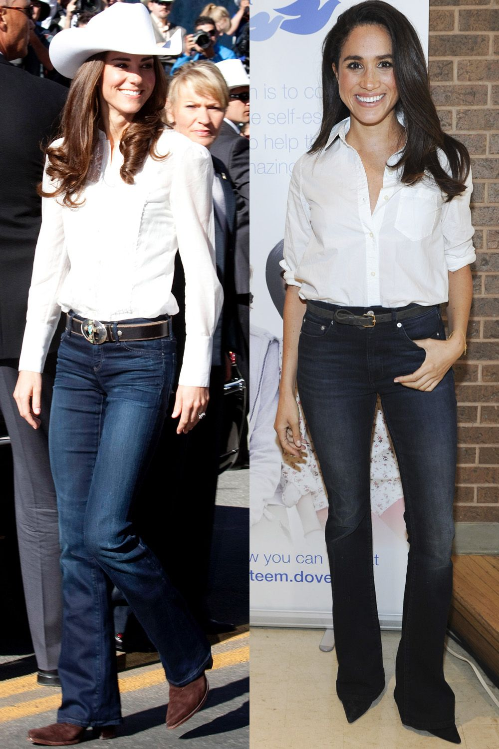 kate middleton and meghan markles matching outfits kate