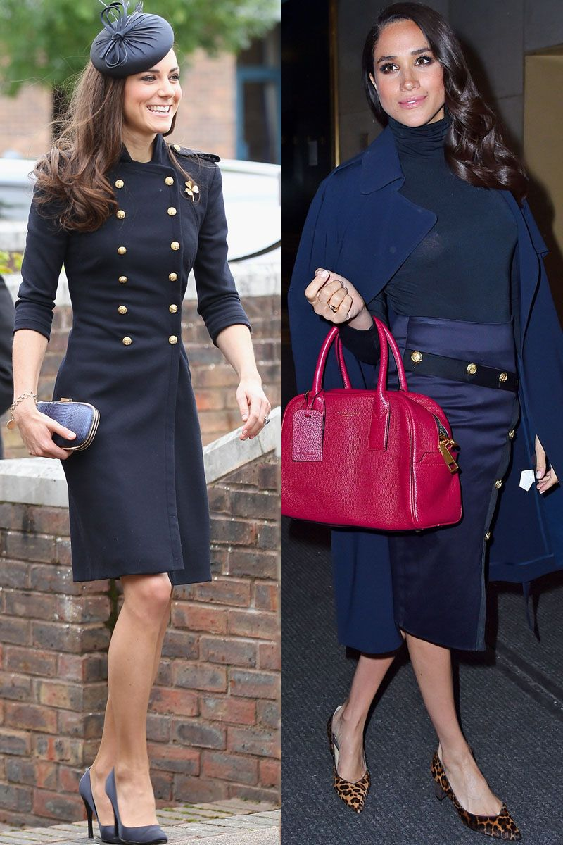 Kate Middleton And Meghan Markle S Matching Outfits Kate Middleton