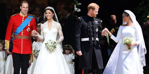Meghan Markle And Prince Harry's Royal Wedding Ceremony Compared