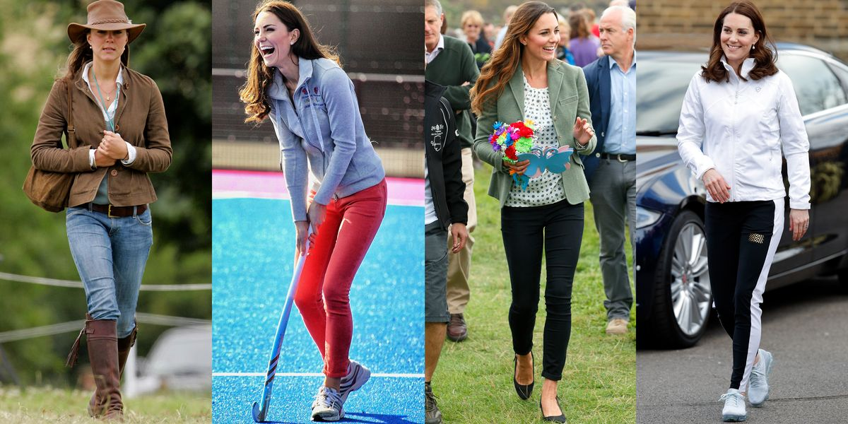 Kate Middleton Jeans And Pants Outfits