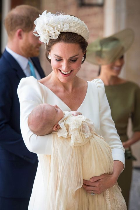 Kate Middleton Wears Alexander McQueen Dress to Prince Louis ...