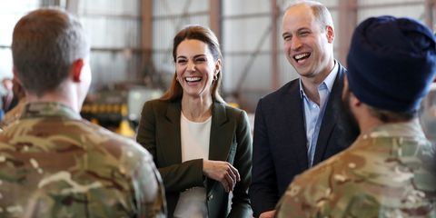 Prince William and Duchess Kate Bring Holiday Cheer to British Military Serving in Cyprus