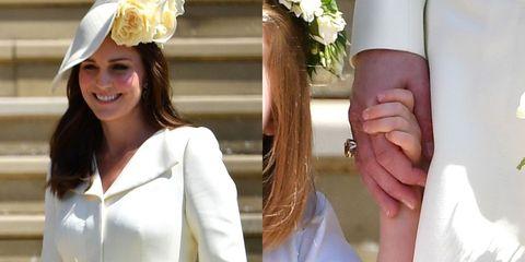 Kate Middleton Wears A New Ring At Royal Wedding Kate Middleton
