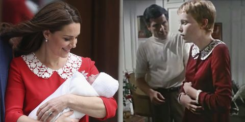 Kate Middleton Accidentally Wore a Dress from Rosemary's Baby for Prince Louis' Debut
