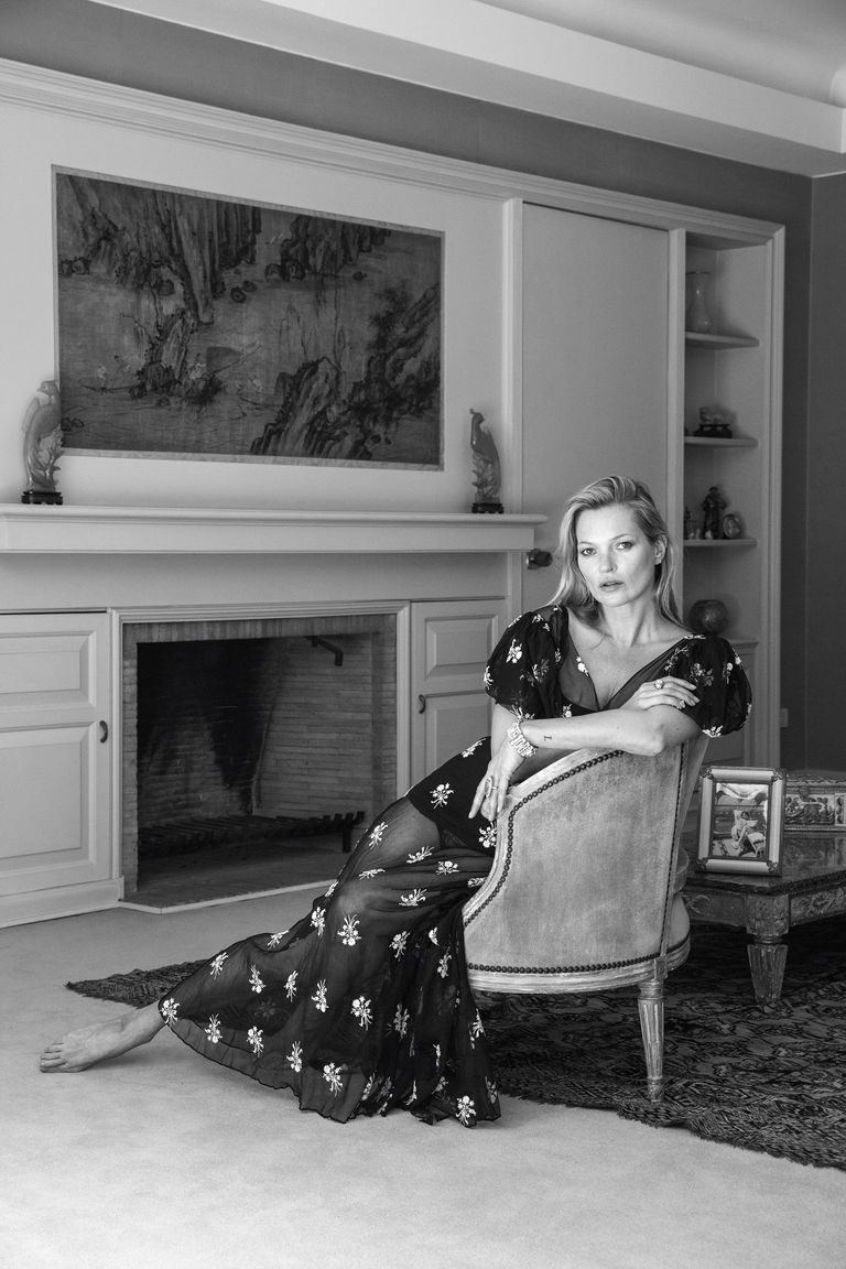 Kate Moss Shares Her Vintage Style Tips