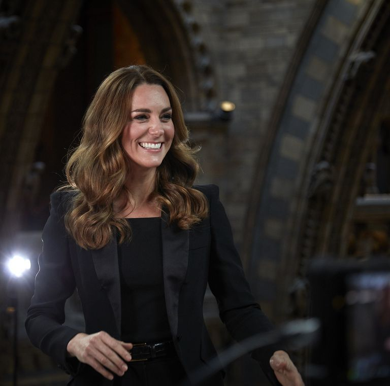 Kate Middleton Stuns in a Black Suit for an Appearance at the Natural History Museum