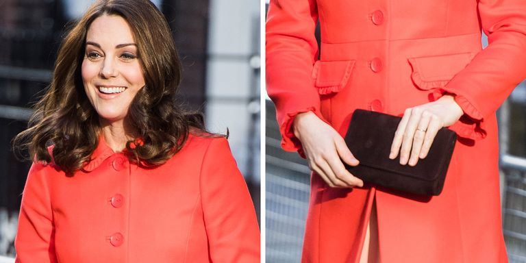 Getty Images Kate Middleton Wasn T Wearing Her Famous Engagement Ring