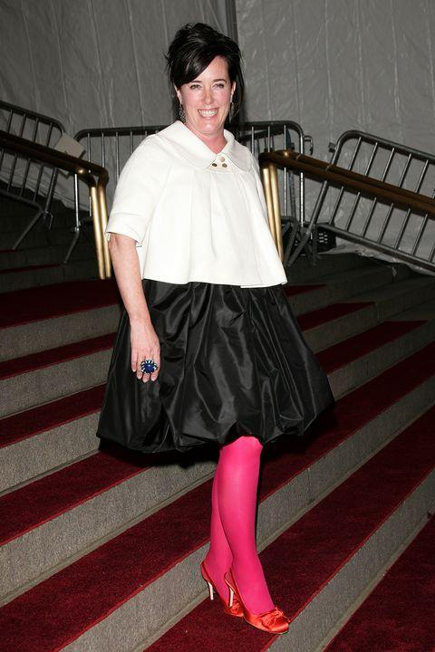 Kate Spade Pink Tights Met Gala