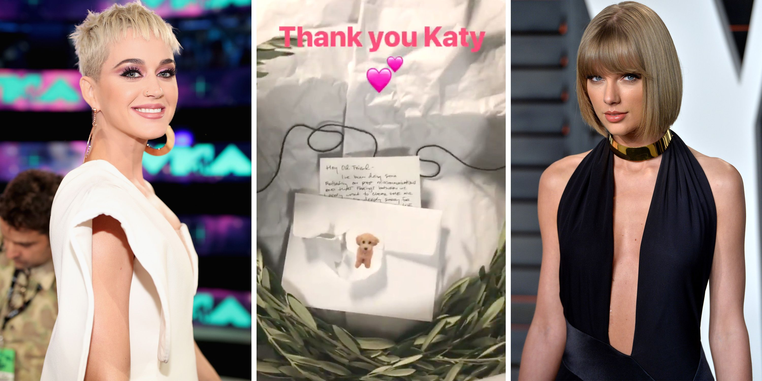 Katy Perry Officially Ends Taylor Swift Feud With An Olive Branch