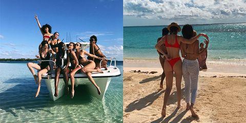 People on beach, Vacation, Fun, Tourism, Leisure, Bikini, Summer, Beach, Spring break, Sea,