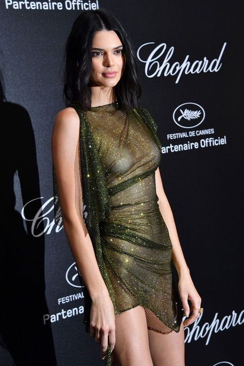 44fdc87dcb7 Kendall Jenner Wore the Most Naked Dress at Cannes Film Festival 2018