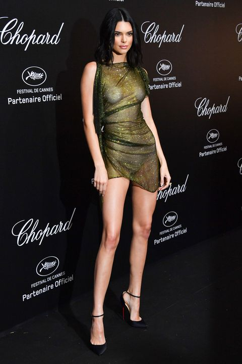 767d40e6dc8 Kendall Jenner Wore the Most Naked Dress at Cannes Film Festival 2018