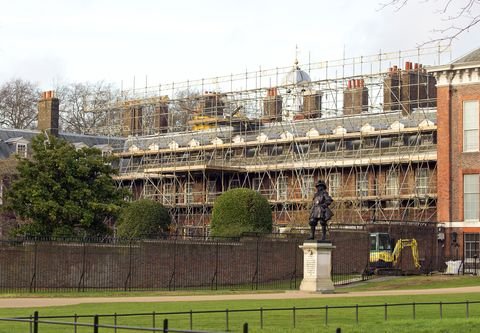 Construction On Apartment 1a At Kensington Palace Back In 2017