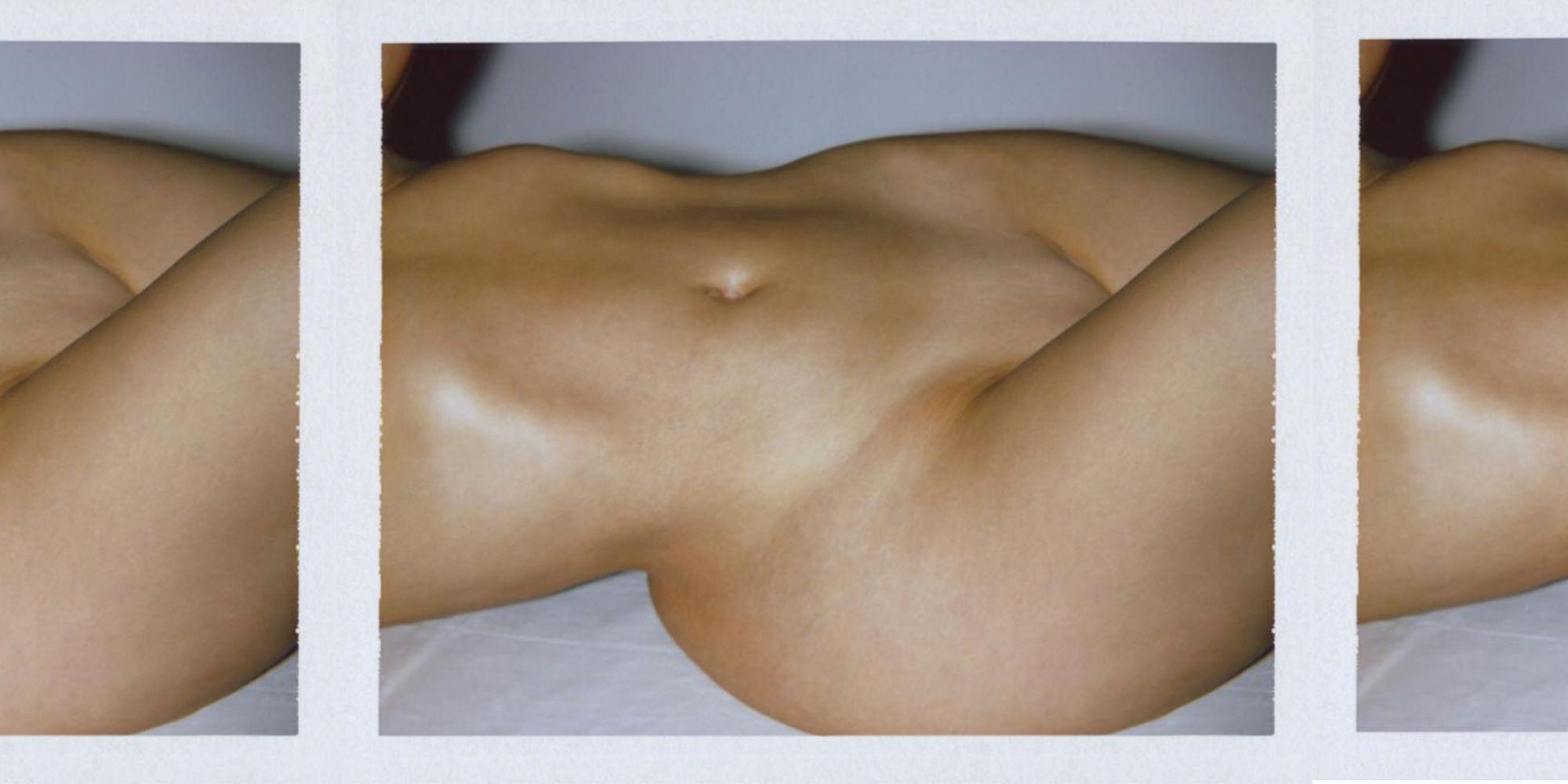 Kim Kardashian naked body perfume