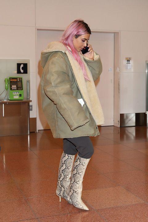 a0fbd6384985f Kim Kardashian Debuted Kanye s Yeezy Season 7 Collection in Tokyo