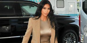 EXCLUSIVE: Kim Kardashian Is Seen Arriving At The White House In Washington DC, After 2 Days Of Visiting Various Prisons Around The DC/Maryland Area.