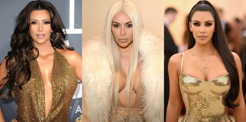 Kim Kardashian's Complete Beauty Evolution
