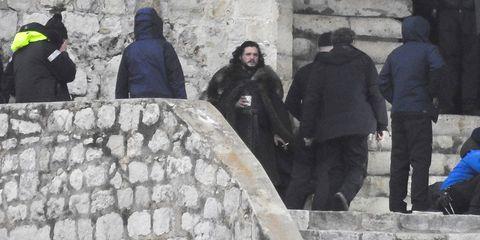 Game Of Thrones Season 8 Set Photos Tease Jon Snow S Storyline