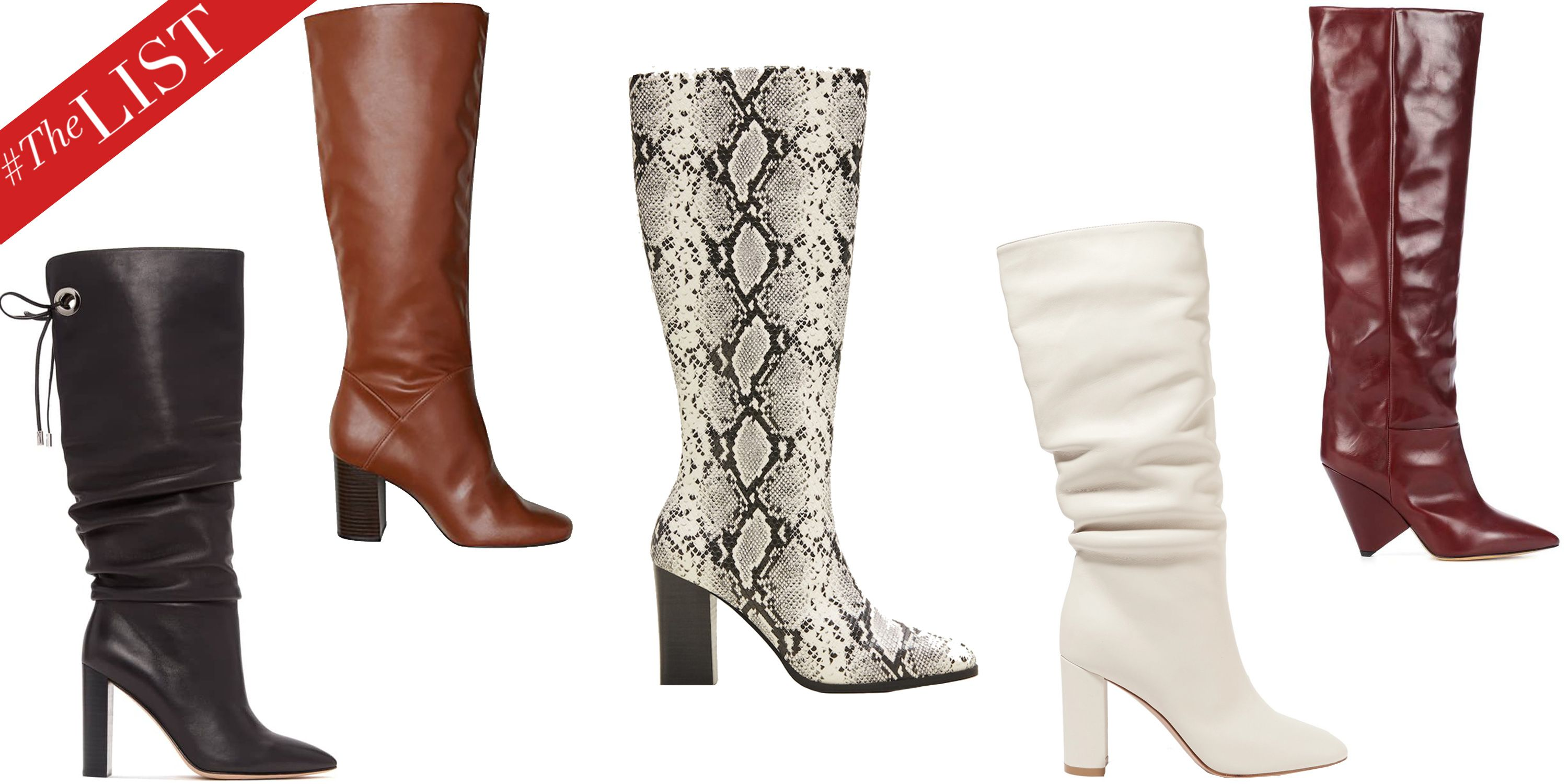 Fall's Best Knee-High Boots to Shop Now