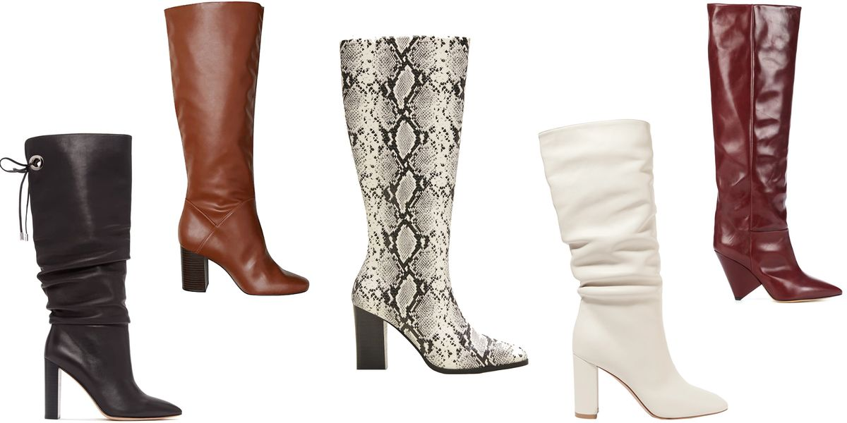 best site Super discount many fashionable The Knee-High Boots You'll Want to Wear Every Day This Fall