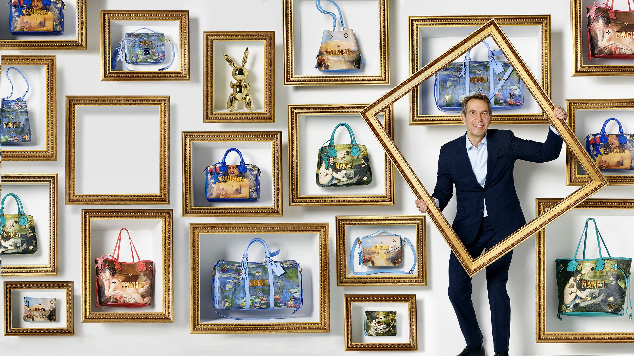 The History of Art According to Jeff Koons