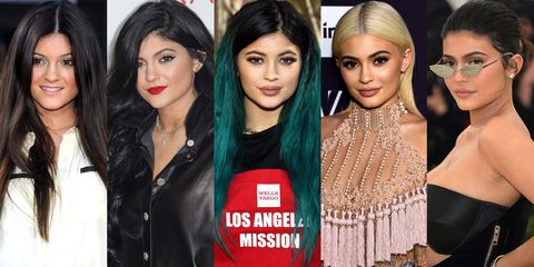 882322af Kylie Jenner's Beauty Transformation Through the Years - Kylie ...