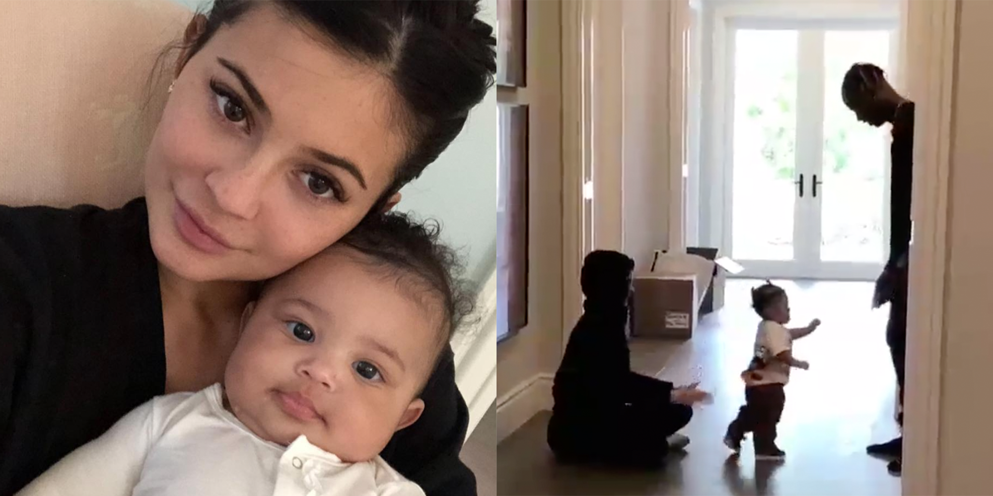 256e04022311 Kylie Jenner Shares Previously-Unseen Photos and Videos of Stormi Webster  for Her First Birthday