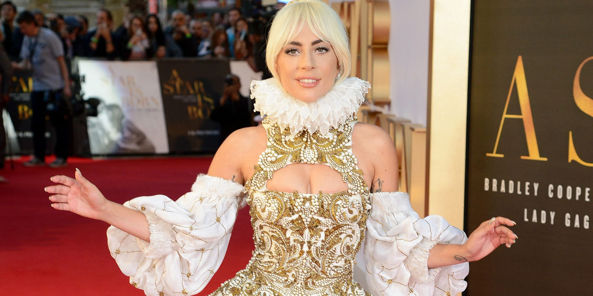 Lady Gaga Just Gave Us Another Epic Red Carpet Look in Alexander McQueen a0f8cd972ab