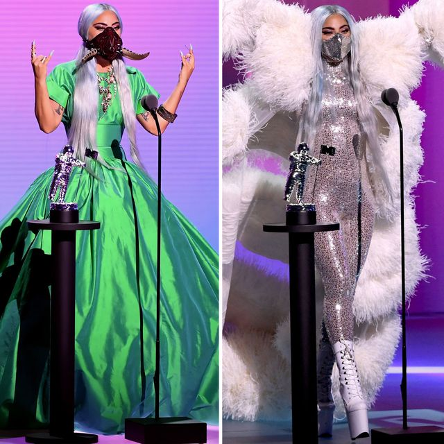 All Of Lady Gaga S Outfits At The 2020 Video Music Awards