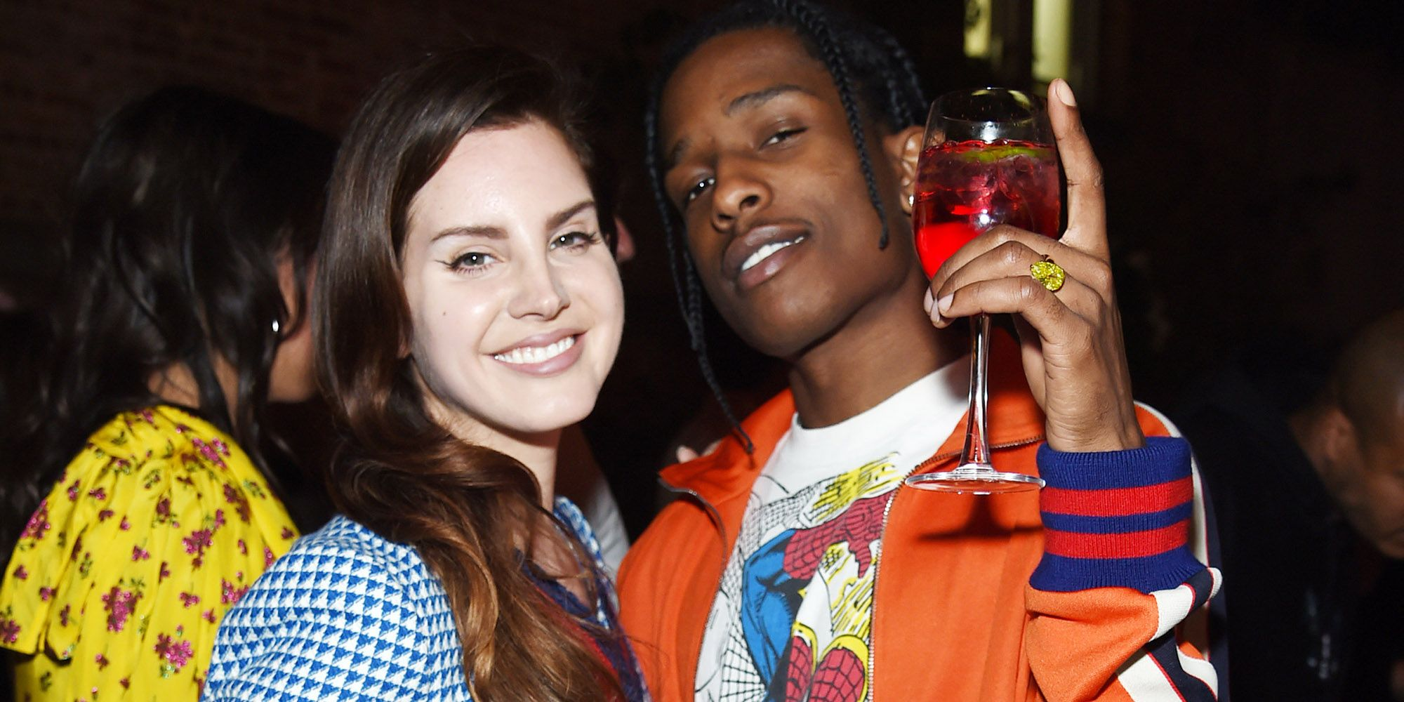 Lana Del Rey And A Ap Rocky Have 2 Songs Together Lana Del Rey And A Ap Rocky Songs
