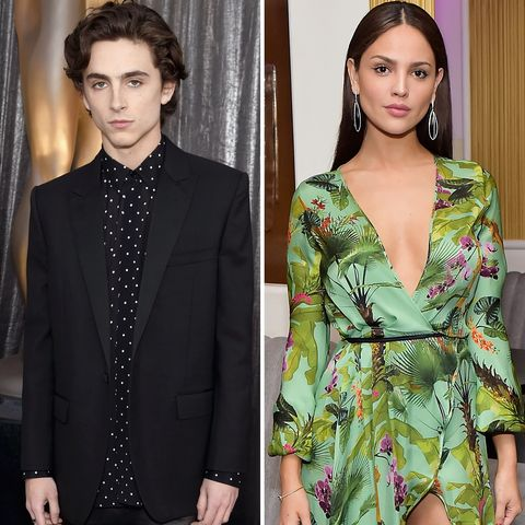 Twitter Is Melting Down Over Those Timothée Chalamet and Eiza González Photos
