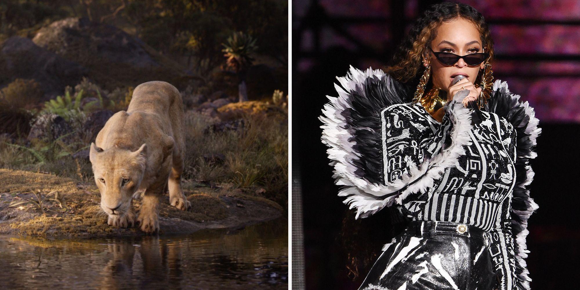 lion king remake cast