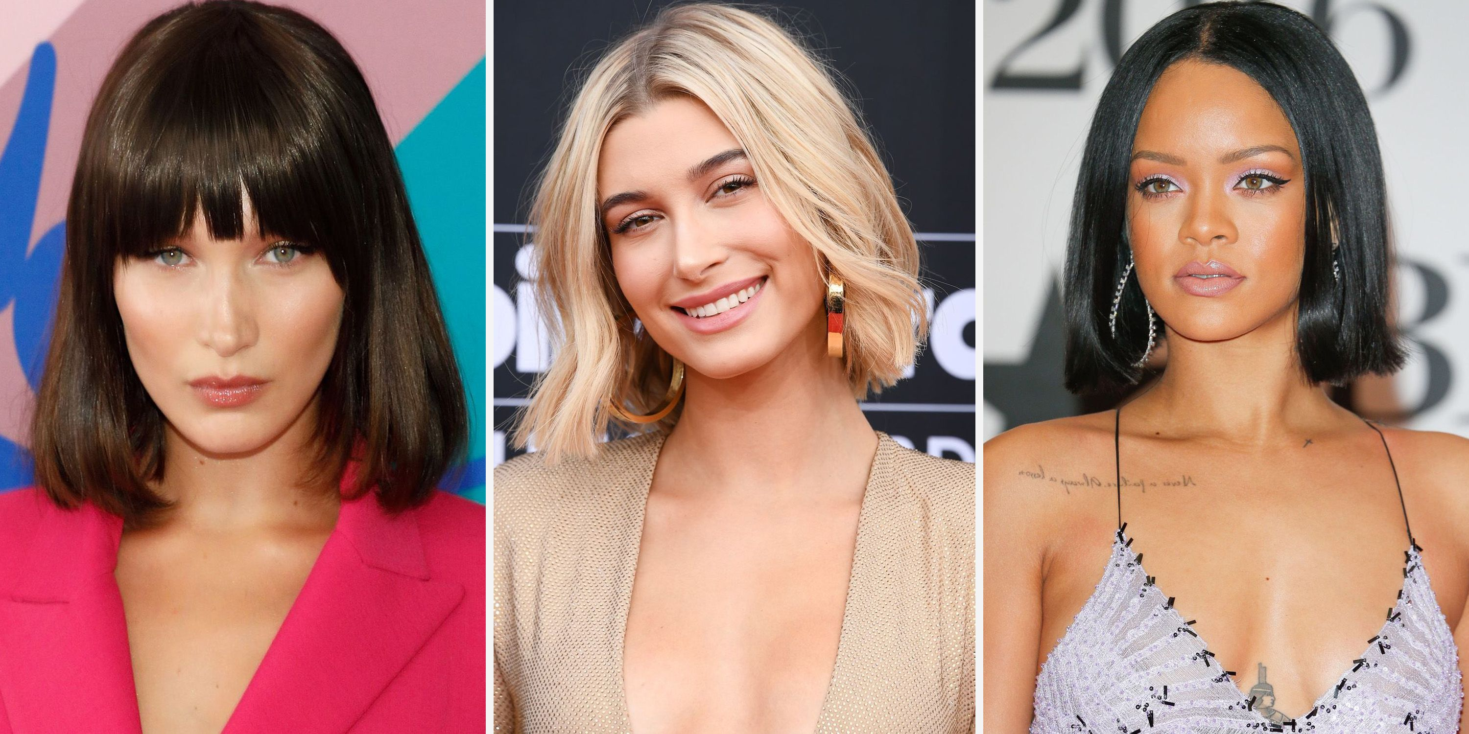 50 Bob and Lob Haircuts 2019 and 2020 , Best Celebrity Bob