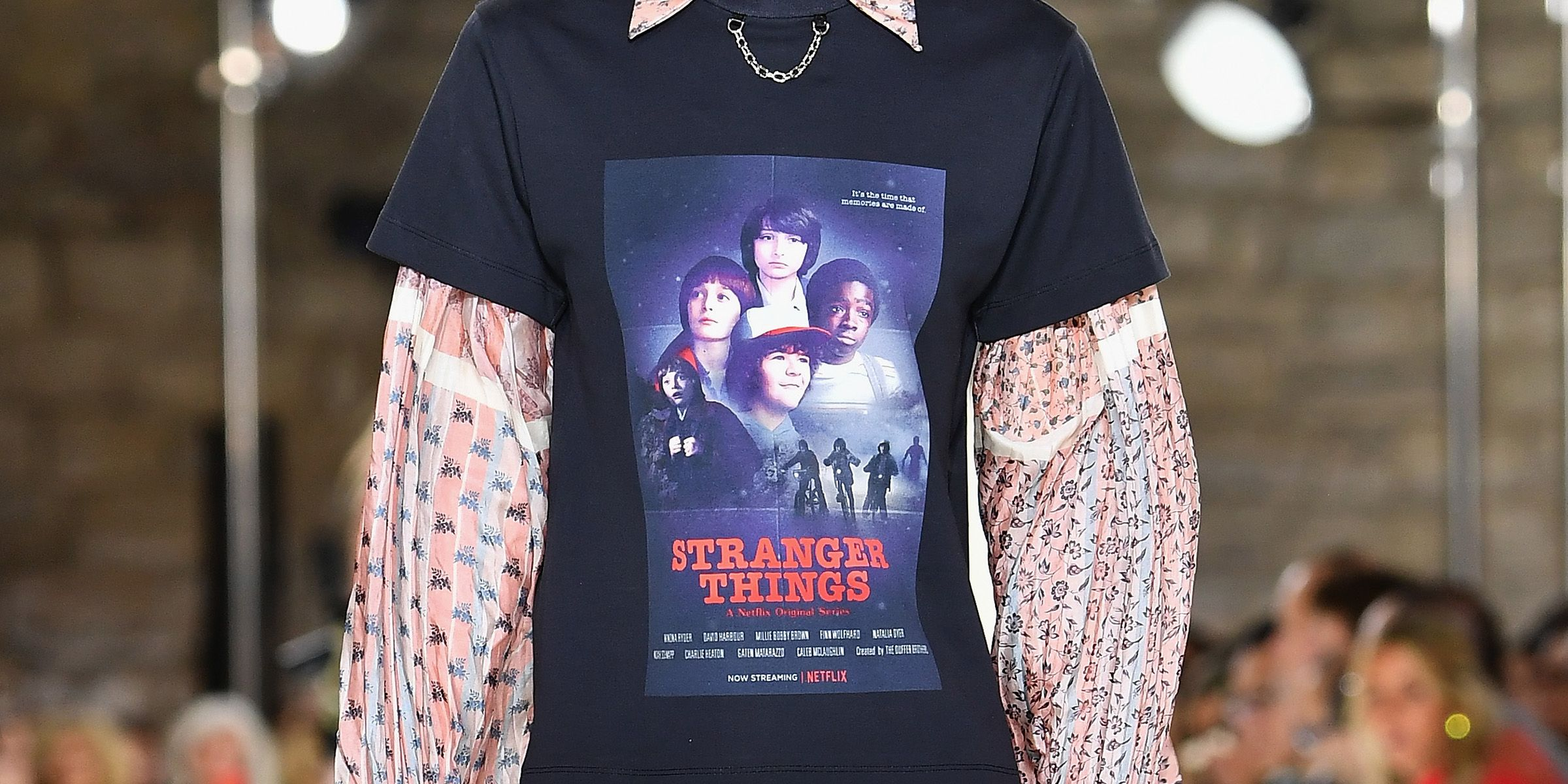 Louis Vuitton Stranger Things T Shirt