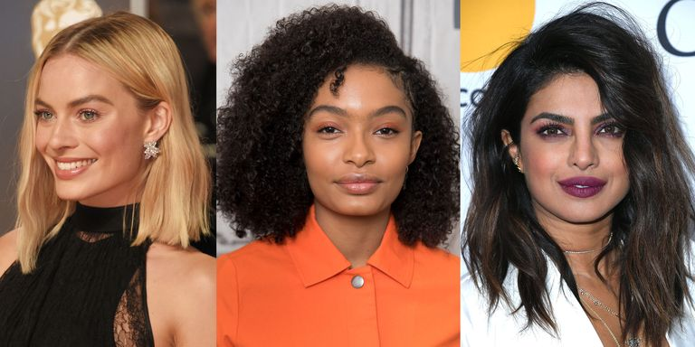 40 best medium hairstyles celebrities with shoulder length haircuts not daringly short or enviably long medium length hair can easily land in the boring category but with a few smart layers the right angles winobraniefo Choice Image