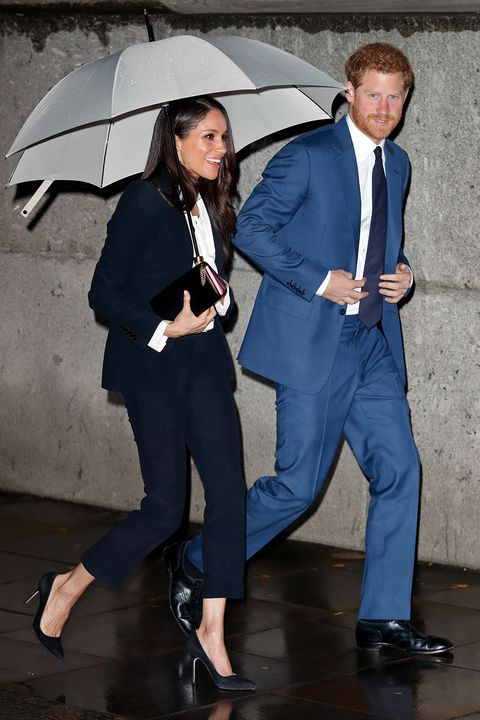 Suit, Umbrella, Blue, Formal wear, Fashion, Outerwear, Electric blue, White-collar worker, Fashion accessory, Photography,