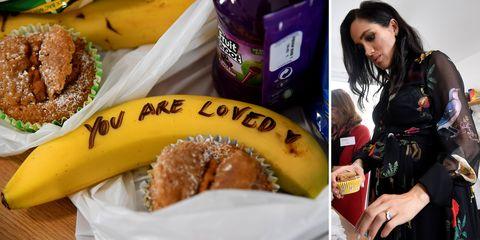 Food, Cuisine, Ingredient, Dish, Banana, Junk food, Doughnut, Bagel, Banana family, Produce,