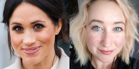 Meghan Markle\'s Freckles Inspire Women to Get Faux Freckle Tattoos