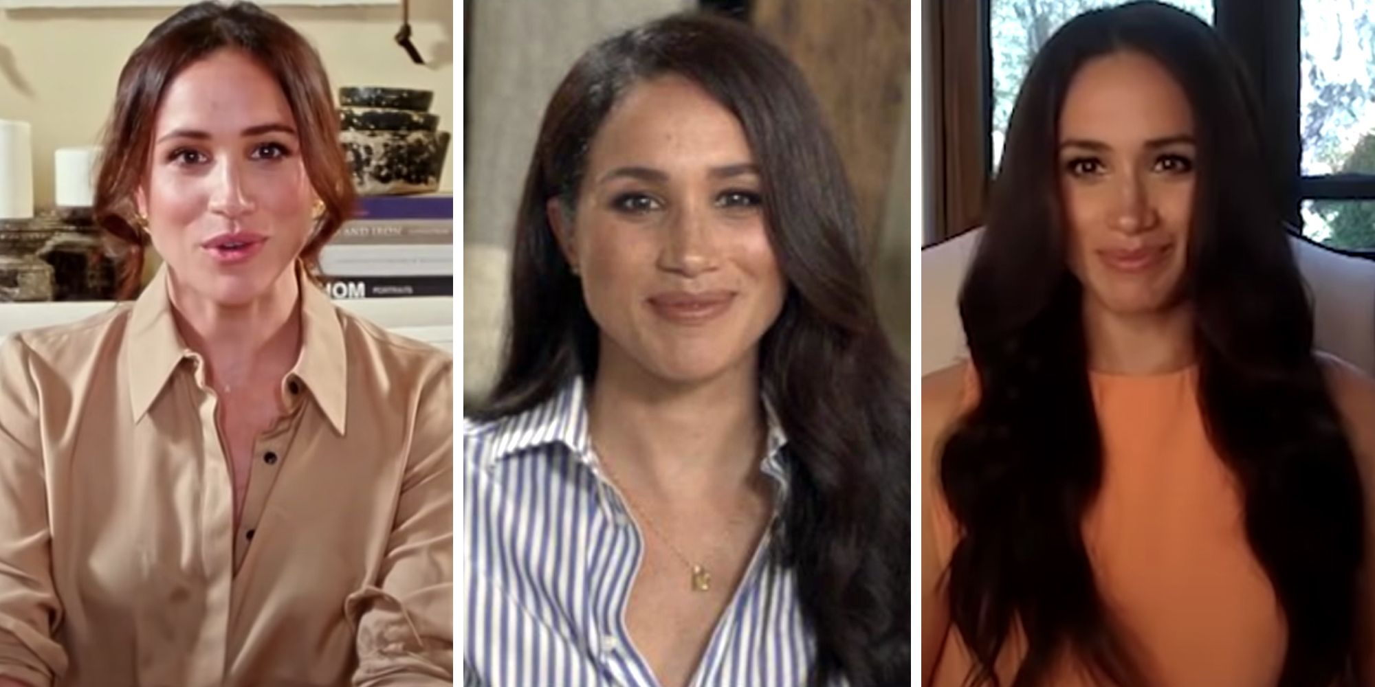 Meghan Markle Leads the Master Class on How to Dress for Zoom