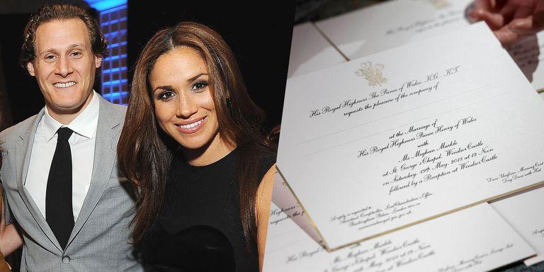 Trevor Rees Jones Invited Royal Wedding: Meghan Markle's Divorce Was Subtly Referenced In The Royal