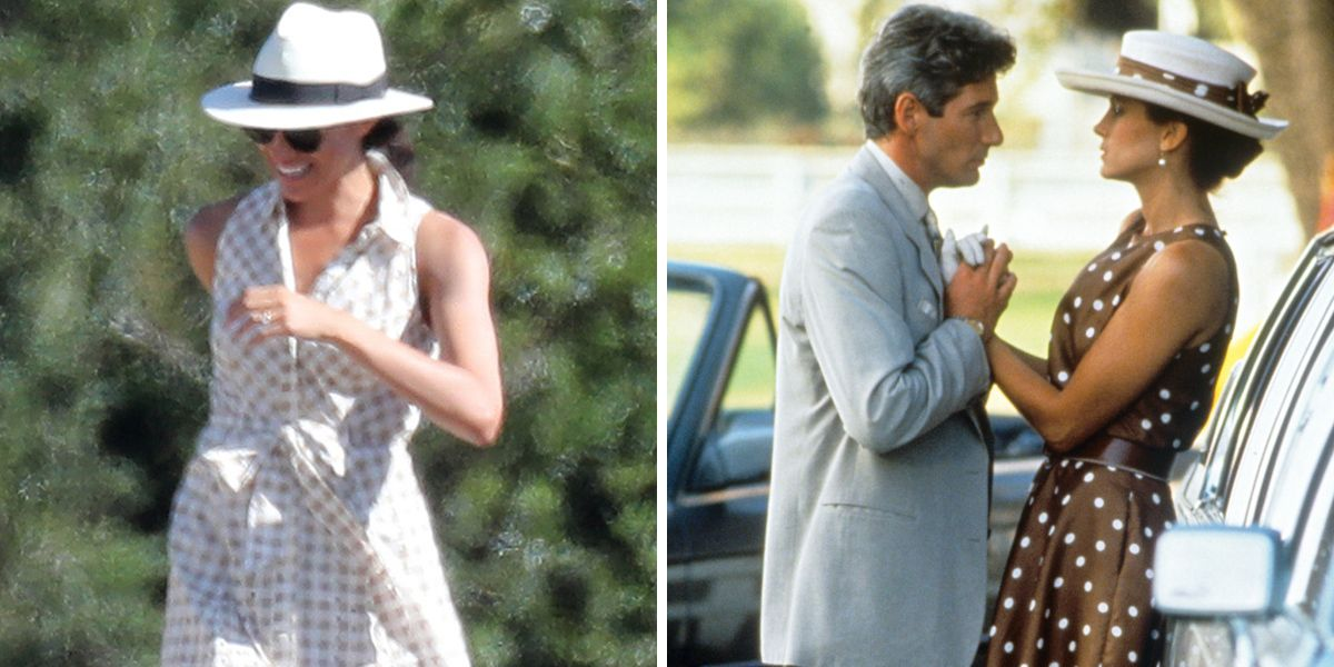 77f25620a0fdc Meghan Markle Had a Pretty Woman Moment at a Polo Match Over the Weekend