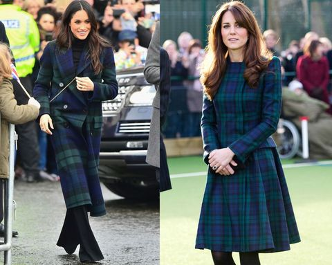 15 Times Meghan Markle and Kate Middleton Dressed Alike - Kate ... d414d87ef494