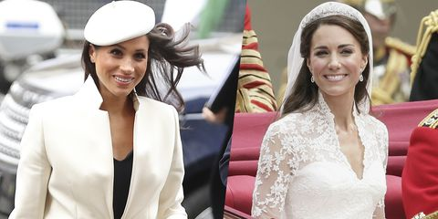 76288da3874 Meghan Markle Doesn t Want to Upstage Kate Middleton s Wedding Dress