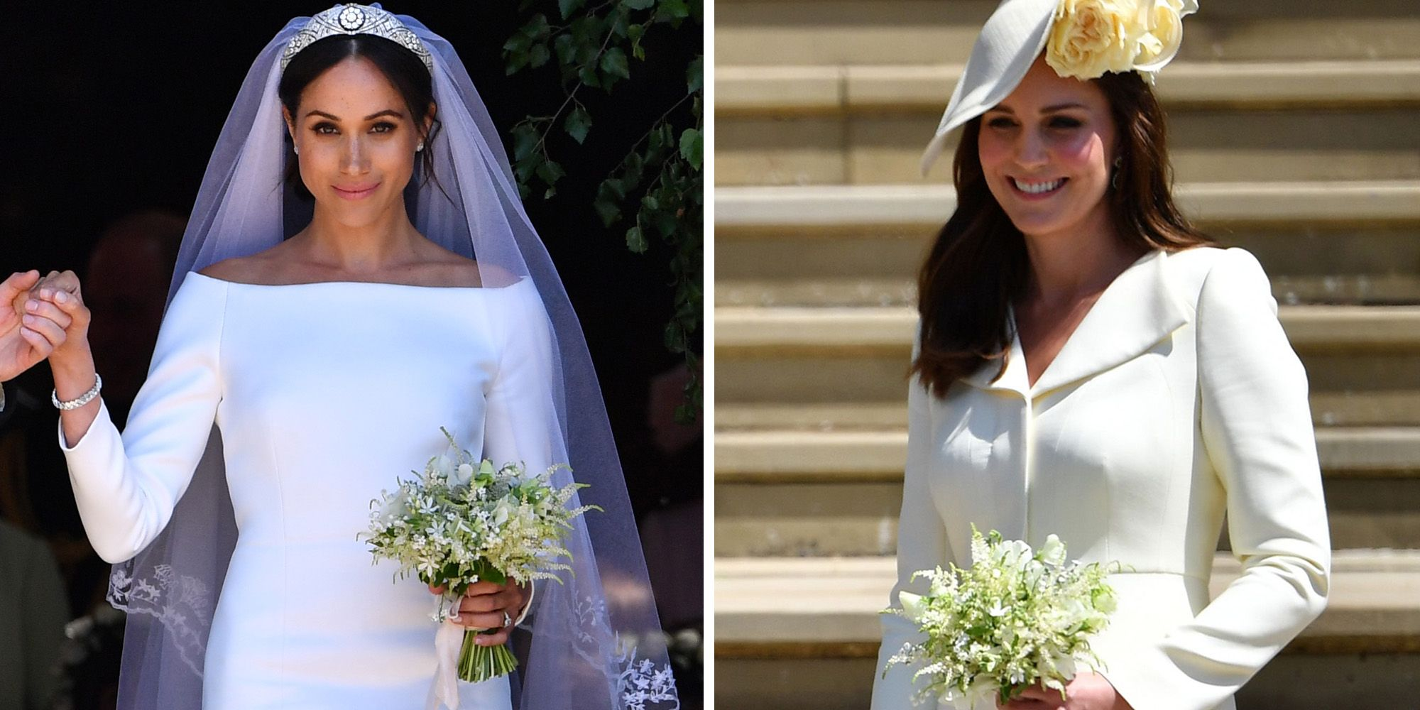 Did Kate Middleton Give Meghan Markle Her Bouquet At The Royal Wedding