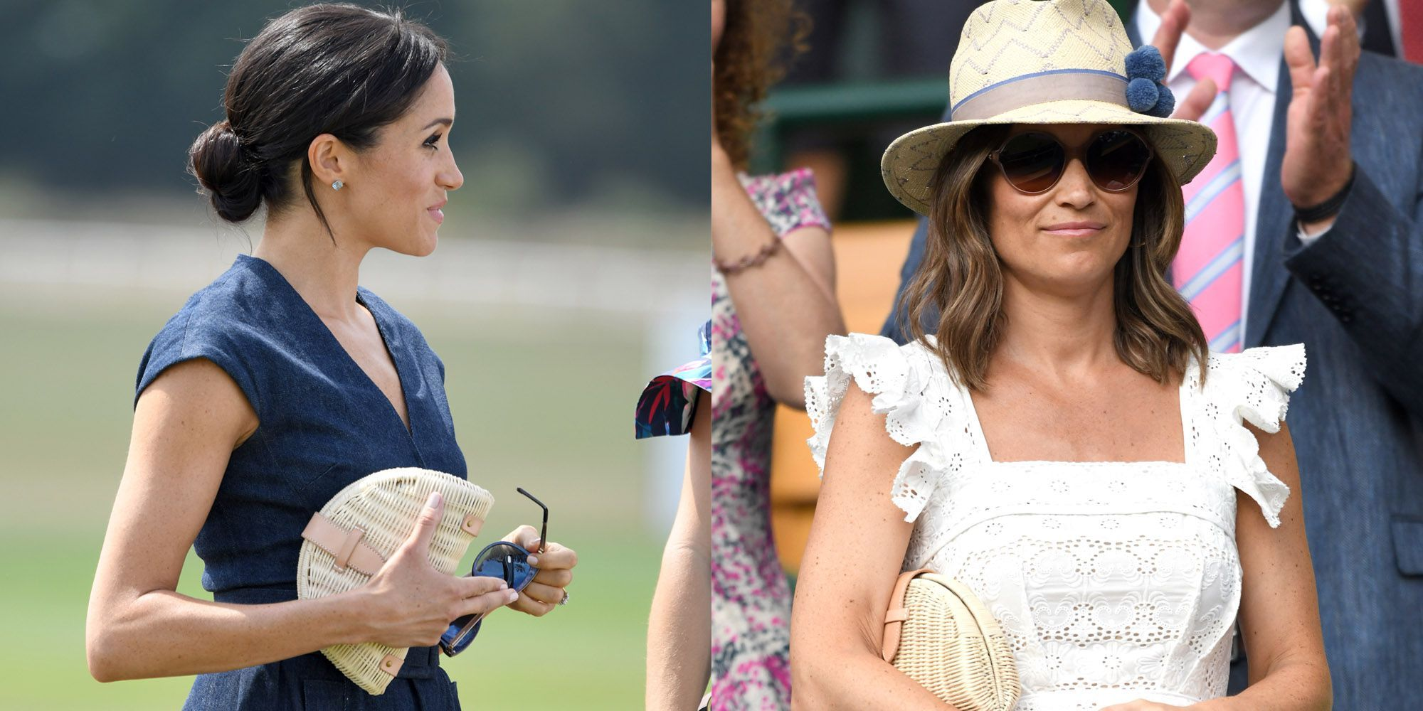 c8122d568 Meghan Markle and Pippa Middleton Rocked the Same Affordable J.Crew Clutch