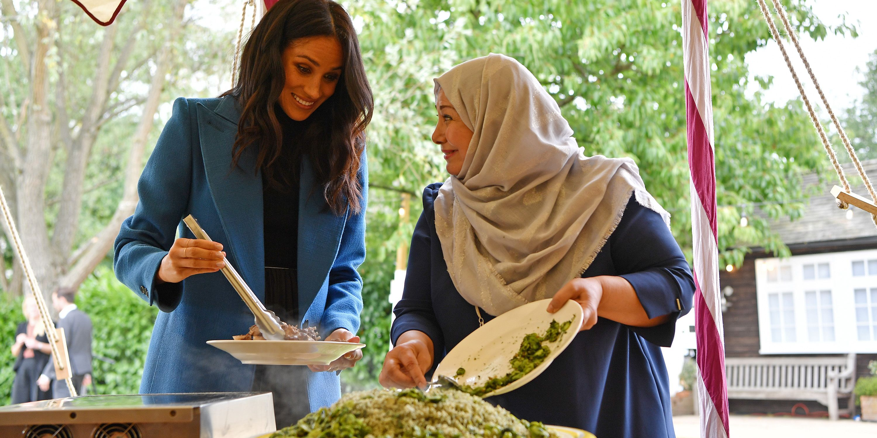 Every Photo from Meghan Markles Cookbook Launch at Kensington Palace