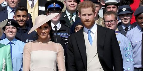 b106ec840902 image. Getty Images. The Duke and Duchess of Sussex are here! Newlyweds ...